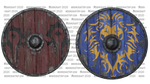 Horde And Alliance Shields - 3D by mooncraft3d