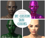 Tutorial: Custom Skin Colors For Daz by mooncraft3d