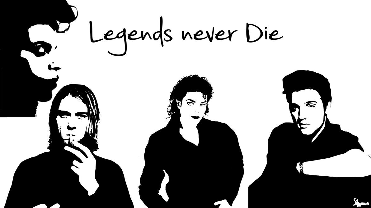 Legends never die wallpaper by Sibunna