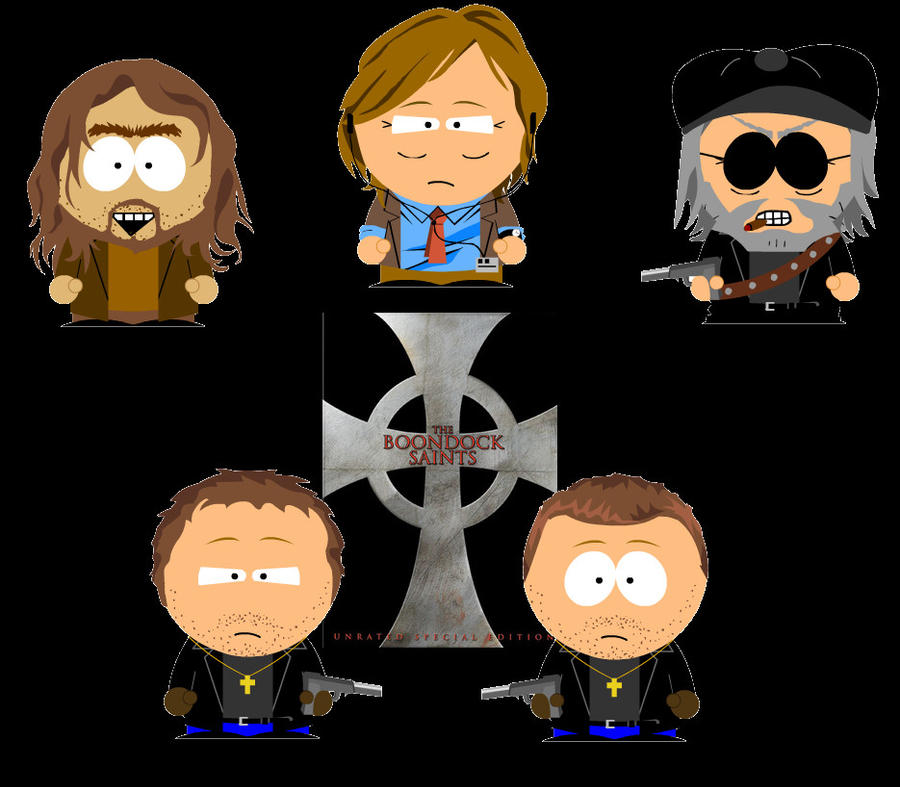 Boondock Saints South Park By Bloodyflame Ironname On Deviantart