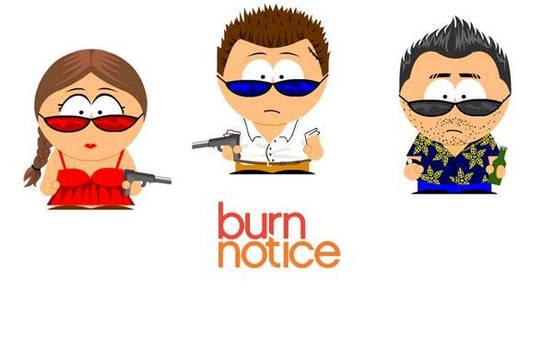 Burn Notice South Park