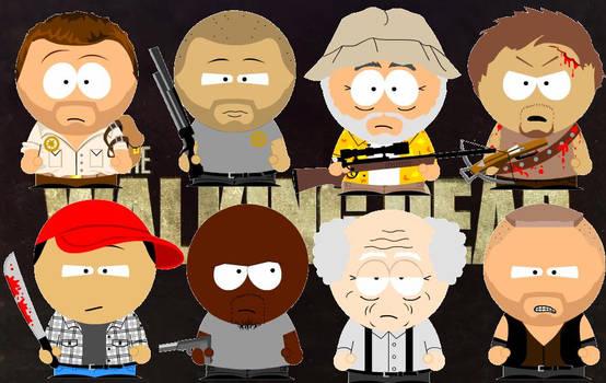 The Walking Dead South Park
