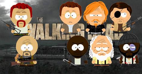 The Walking Dead South Park [2]