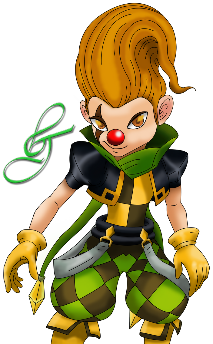 Lushen, Wind Joker Awakened by deviantartludon