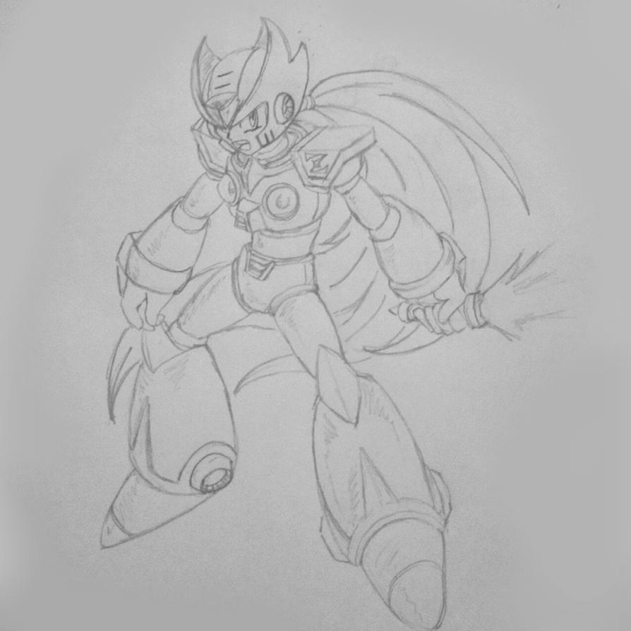 Zero - MegaMan X by deviantartludon