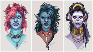 Troll Portraits by TMirai