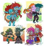 Chibi Commissions: Trolls