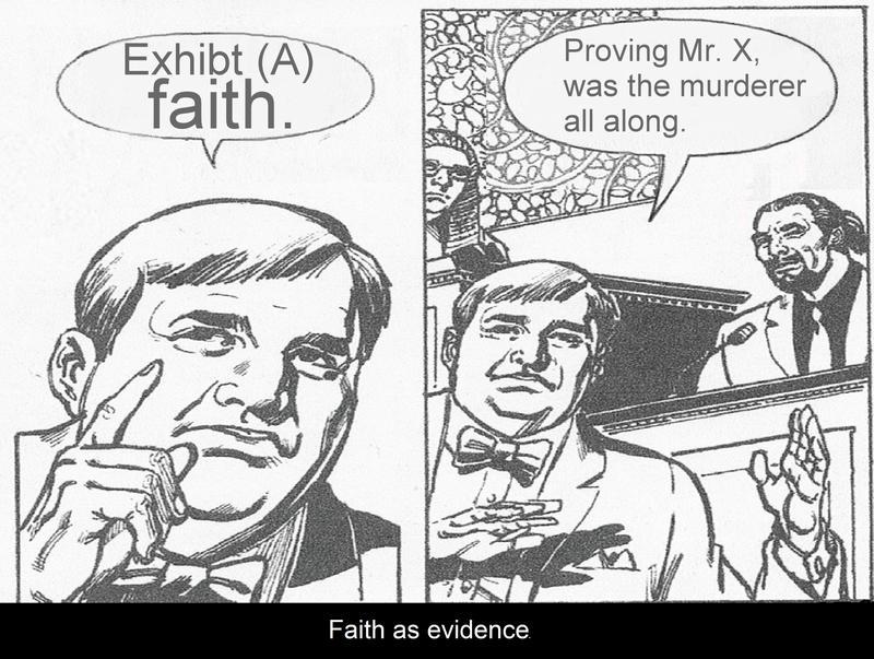 Faith as evidence by EvilTrapZ