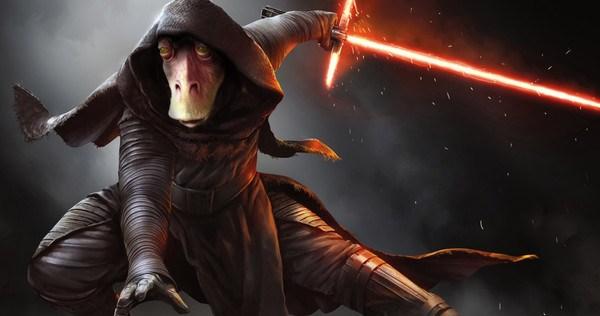 Jar Jar Binks, is the evil Yoda. by EvilTrapZ