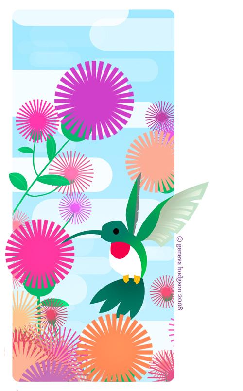 Hummingbird by schematichands