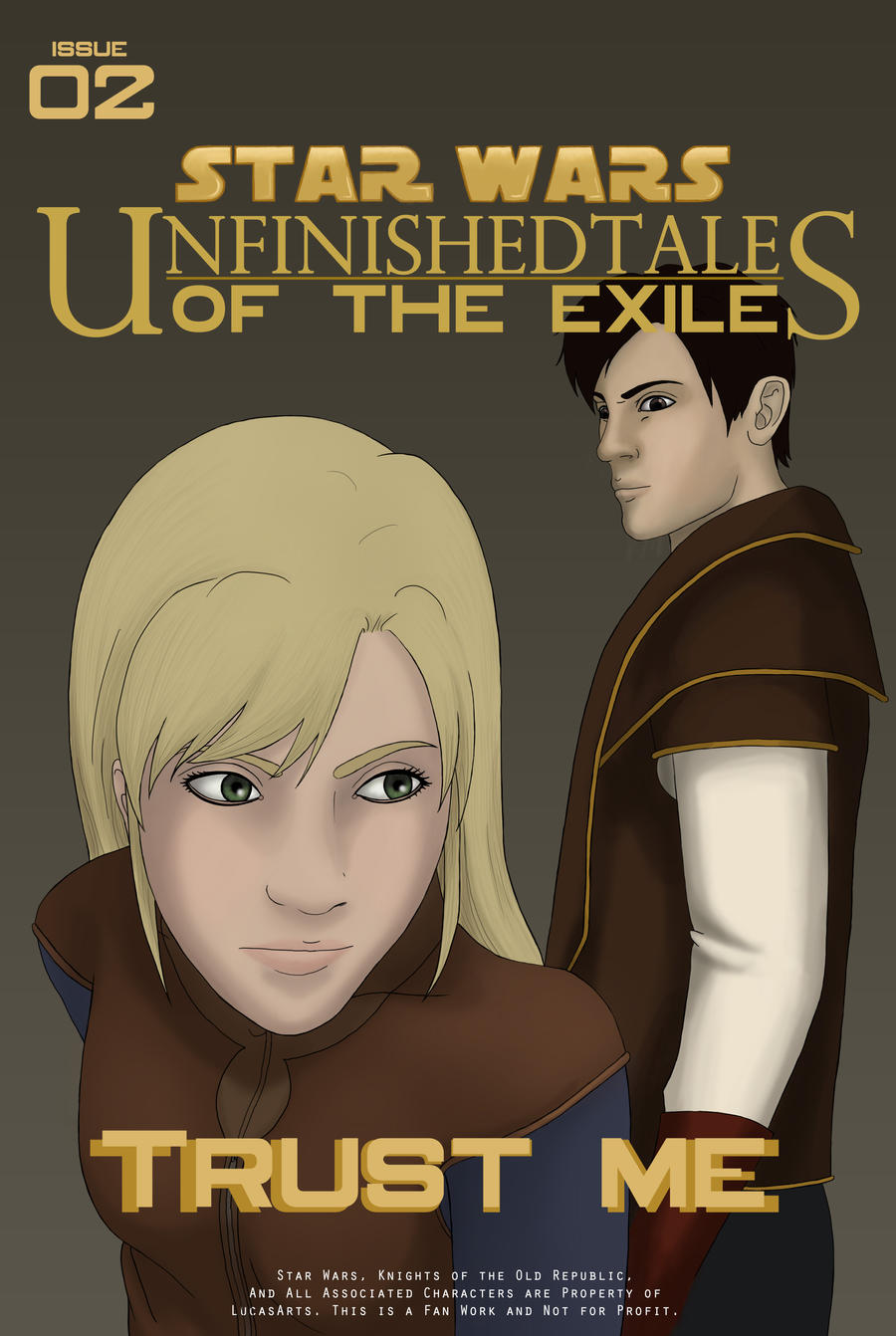 UT of the Exile, Issue 2 Cover