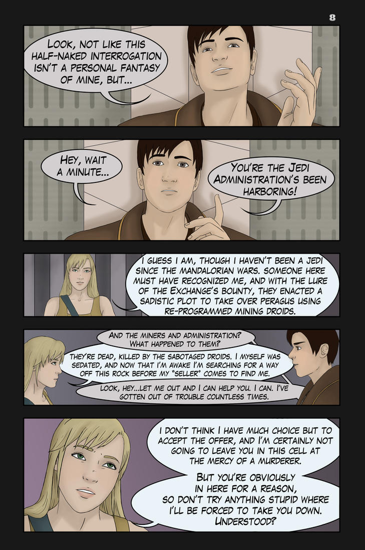 UT of the Exile, Iss. 2, Page 8 by AshleyKayley