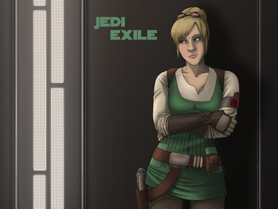 The Jedi Exile by AshleyKayley