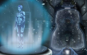 Cortana Waits by AshleyKayley