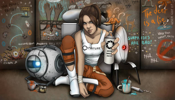 Rebel Chell and her Portal Cohorts