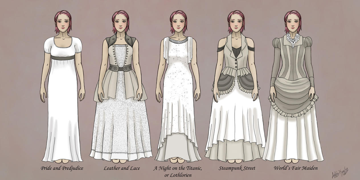 The gallery for red steampunk wedding dress for Where can i get my wedding dress steamed