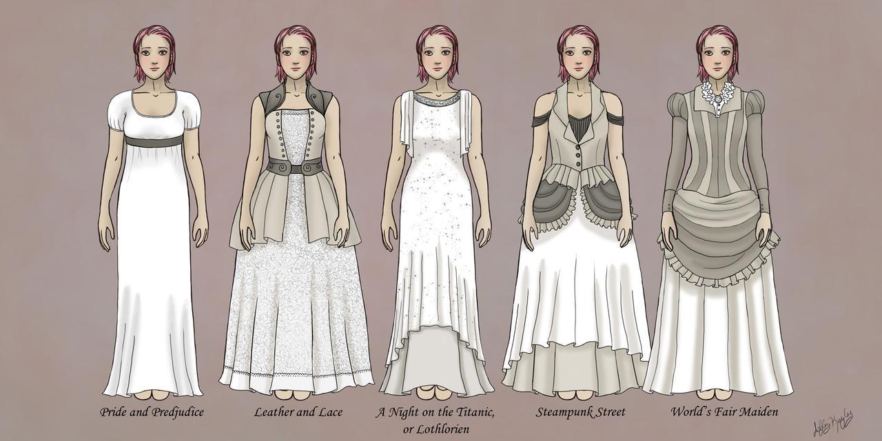 Steampunk Wedding Dresses steampunk wedding dresses Steampunk Wedding Dresses by AshleyKayley Steampunk Wedding Dresses by AshleyKayley