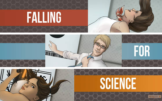 Portal Science Wallpaper