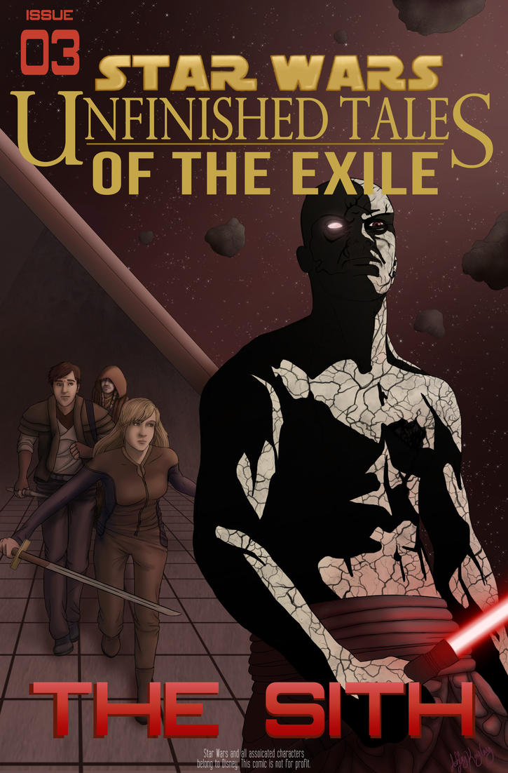 Unfinished Tales of the Exile, Issue 3 Cover by AshleyKayley