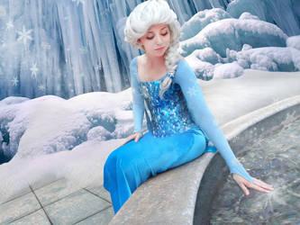 Elsa Cosplay from Frozen by AshleyKayley