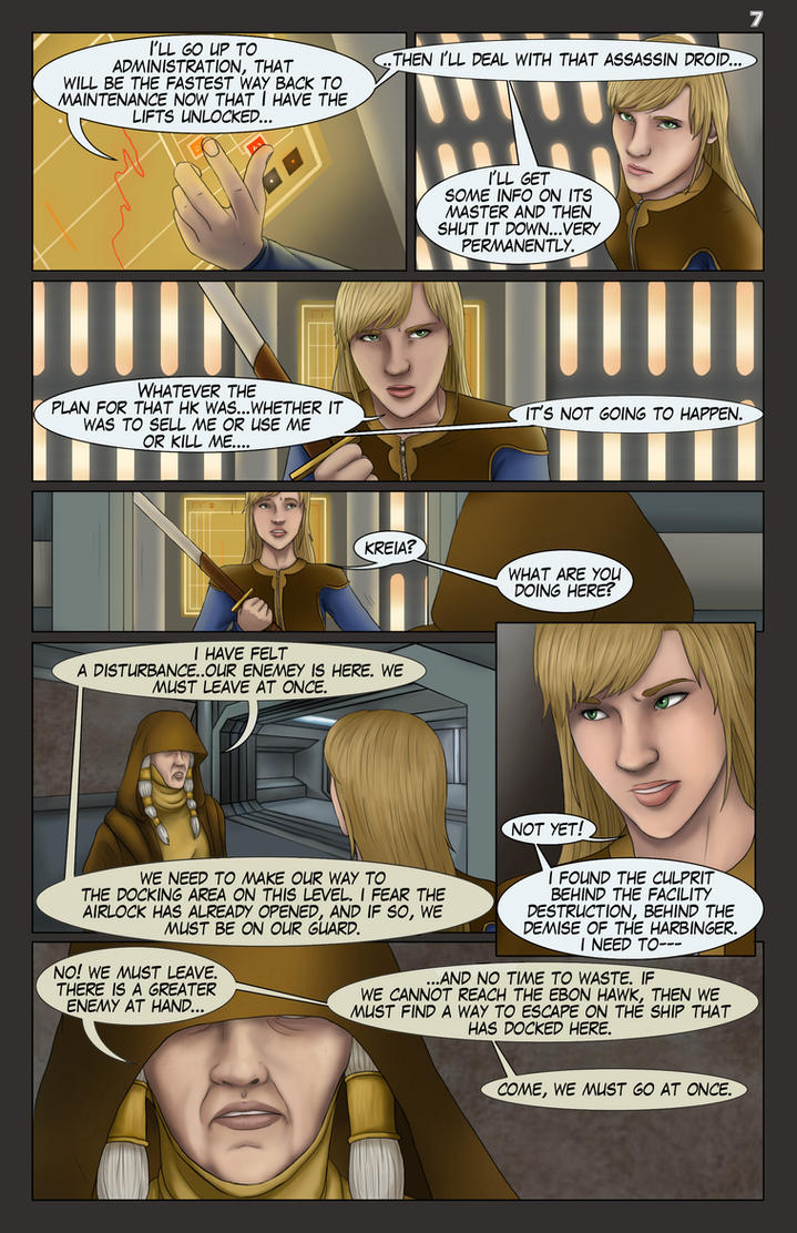 UT of the Exile, Issue3, Page 7 by AshleyKayley