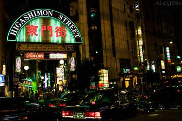 Higashimon Street by Aleyd92