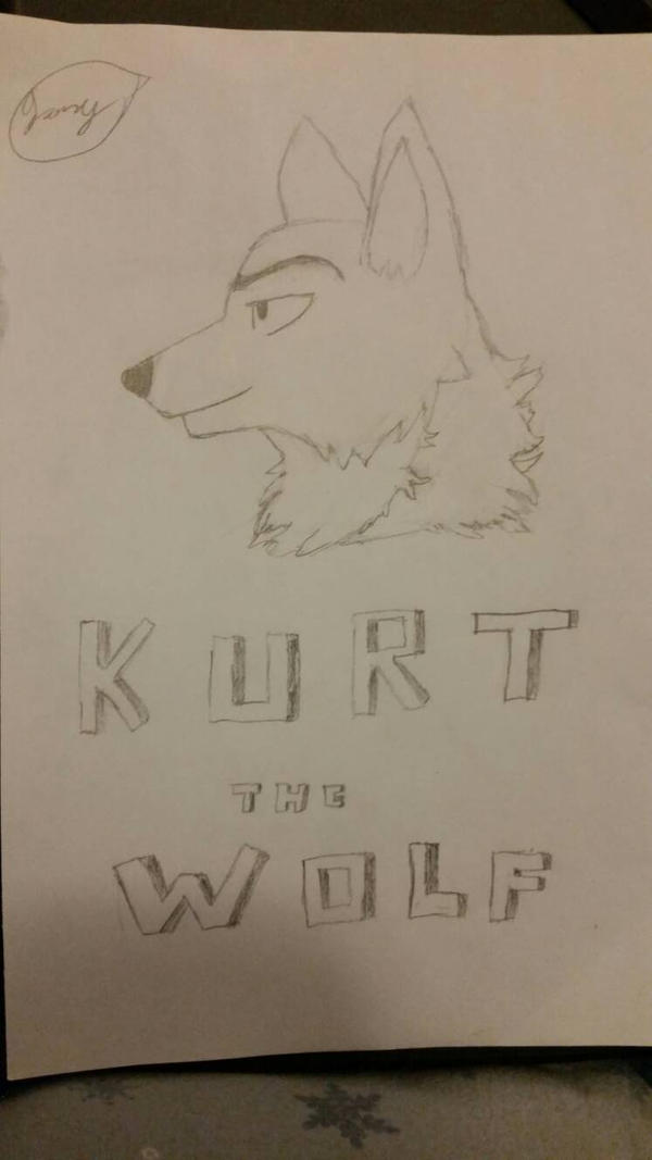 woop (Kurt the Wolf) by KeithMoonsBabe