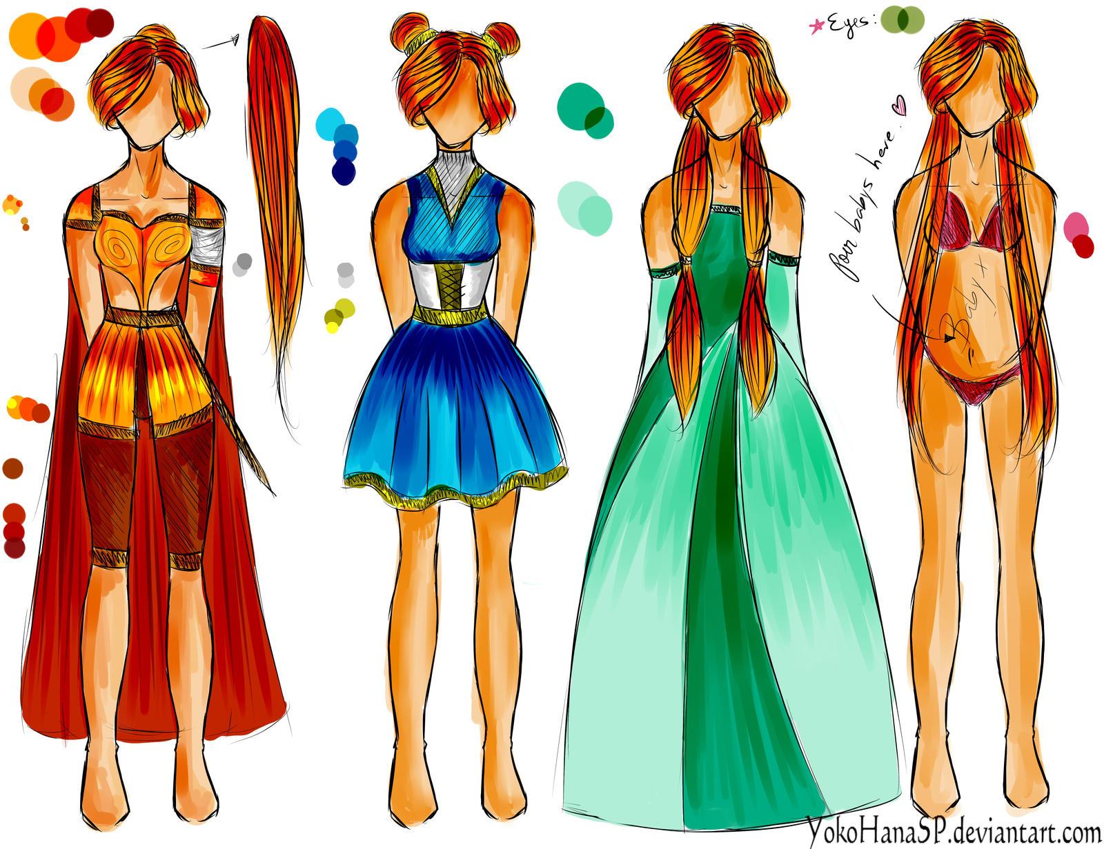 Yoko Design Küchenzubehör ~ yoko designs by itsphoebee on deviantart