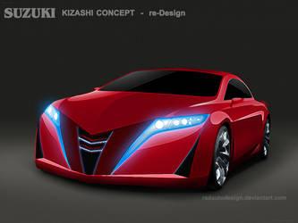 Suzuki Kizashi re-Design_rad by radautodesign