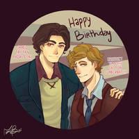Happy birthday Jared/Benedict by CameliaPham
