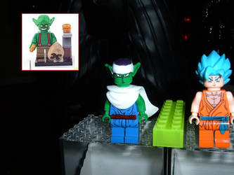 Dragonball Z Piccolo custom Lego