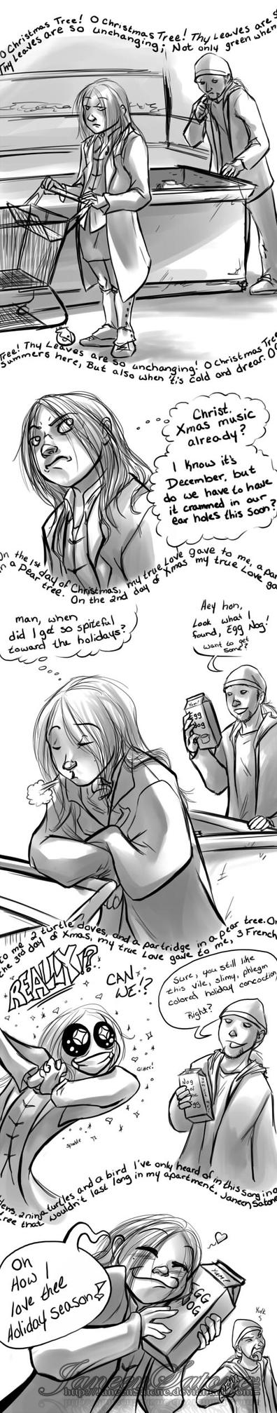 It Came From Real Life: Egg Nog by JaneenSatone