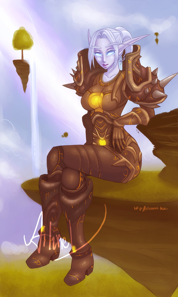 Night Elf Warrior T6 by szienna