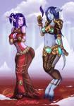 Moonkin and Draenei