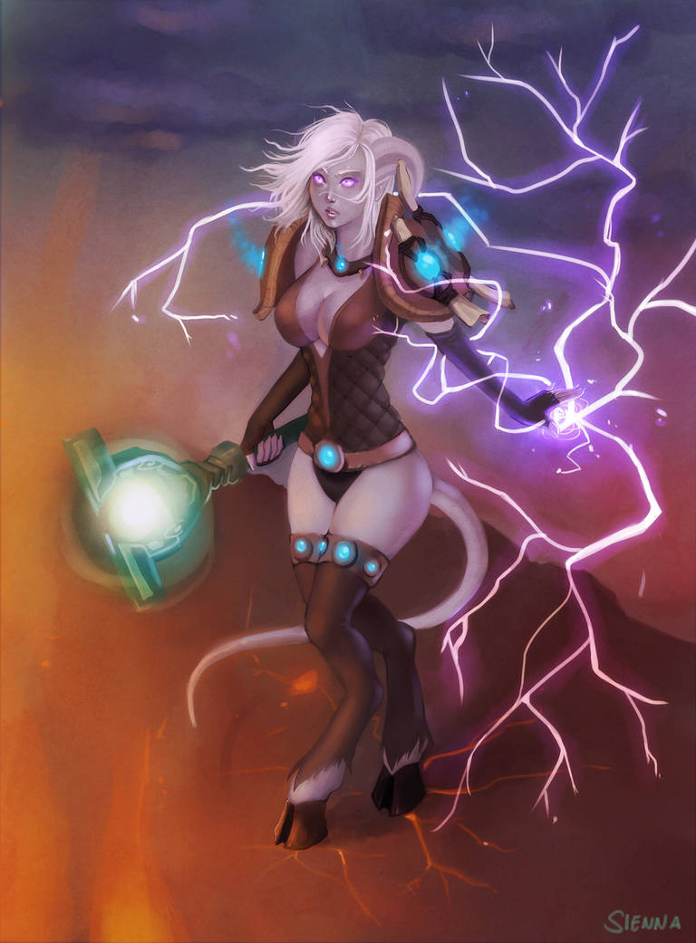 Unleashed Lightning by szienna