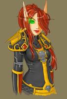 blood elf paladin-col by szienna