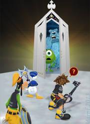 Kingdom Hearts + Monsters Inc. by Marpf