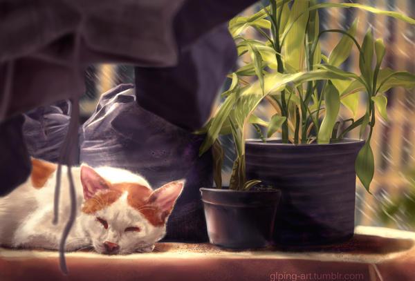 Peaceful Slumber by GLPing