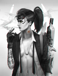 Cigarette After Duel by GLPing