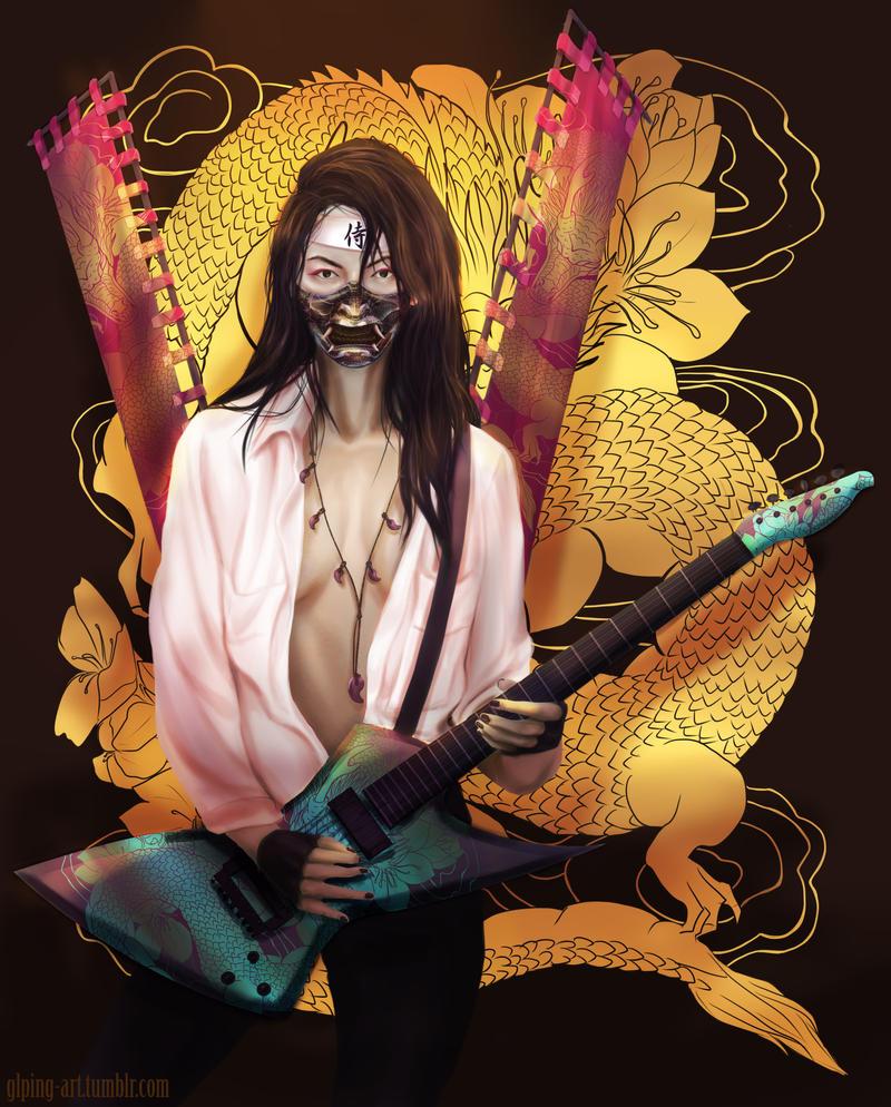 Samurai RockNRoll by GLPing