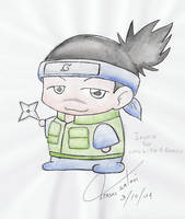 iruka for WHOKILLEDROMEO... by tensaimiwa
