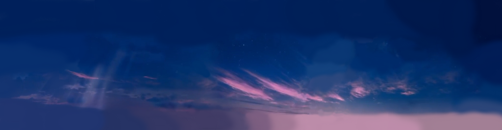 Walt Disney Pictures (2006) Sky Background by TPPercival