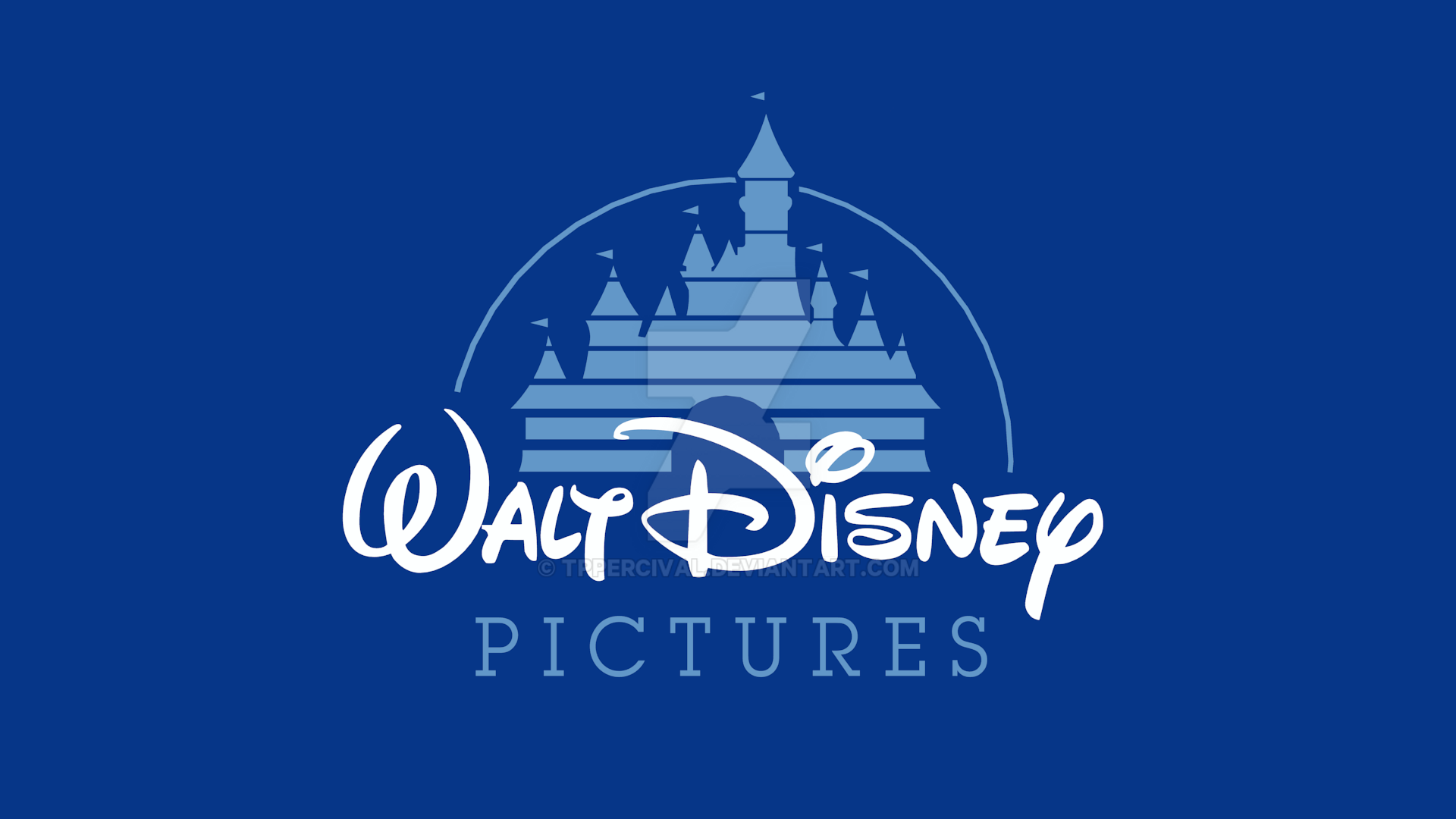 walt disney pictures 19902006 logo remake by tppercival