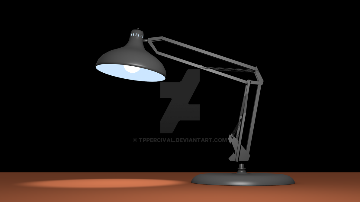 Luxo Sr 3D Model By TPPercival