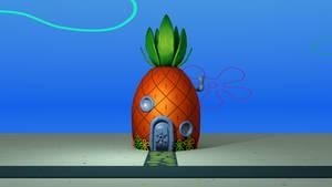 SpongeBob's House 3D Model