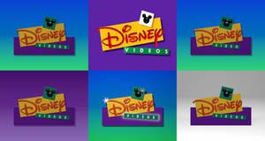 Disney Videos (1995-2005) Logo Remakes (2018 U/D)