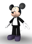Mickey Mouse (House of Mouse) 3D Render