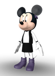 Minnie Mouse (House of Mouse) 3D Render