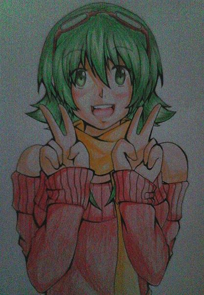 [ Traditional ] GUMI by Shizumii-Kaii
