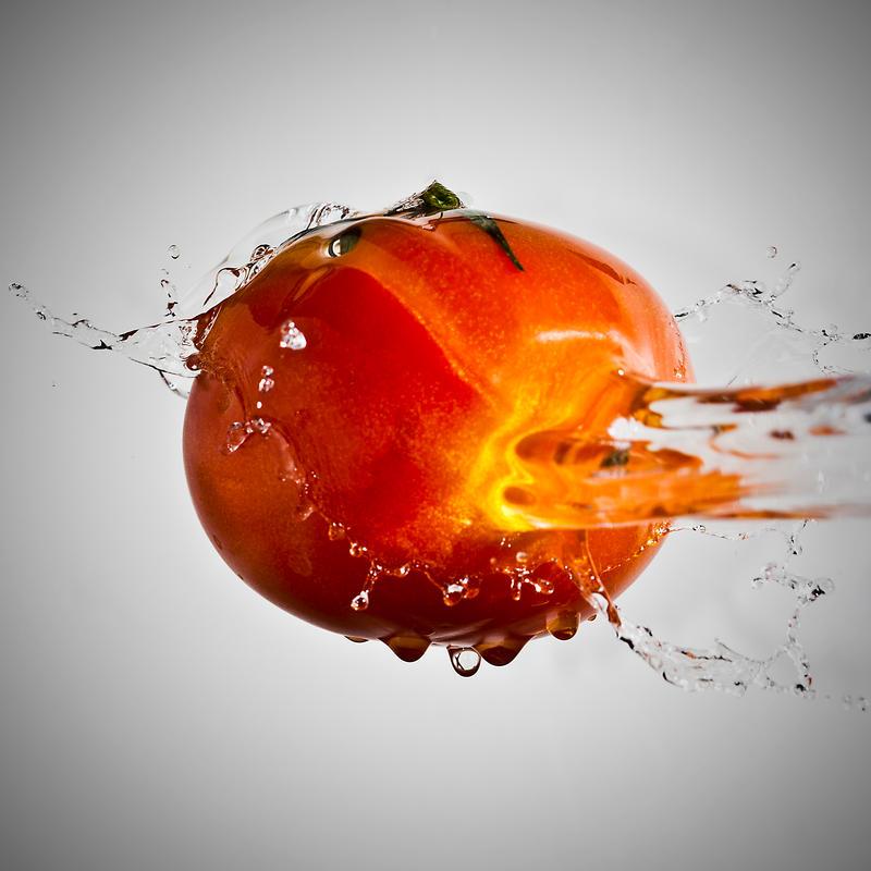 tomato splash by v4nity on deviantart